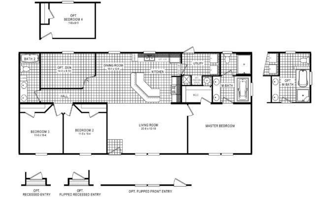Home Floor Plan Clayton Rancher One Level Dsp