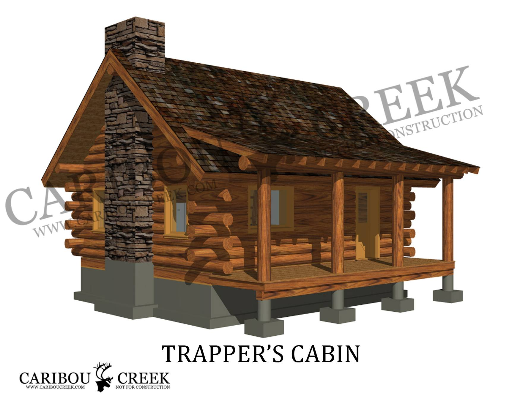 Home Floor Plans Log Cabin Modular Small - House Plans | #60686