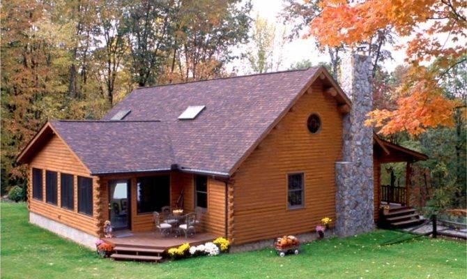 Home Ideas Cedar Log Plans