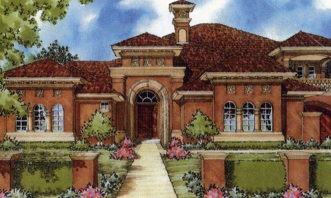 Home Ideas Mediterranean Style Plans