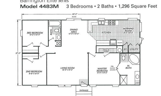 Home Ideas Triple Wide Mobile Floor Plans