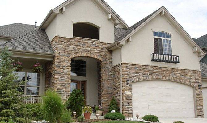 Home Improvement Decorate Exteriors Your House Using Stone