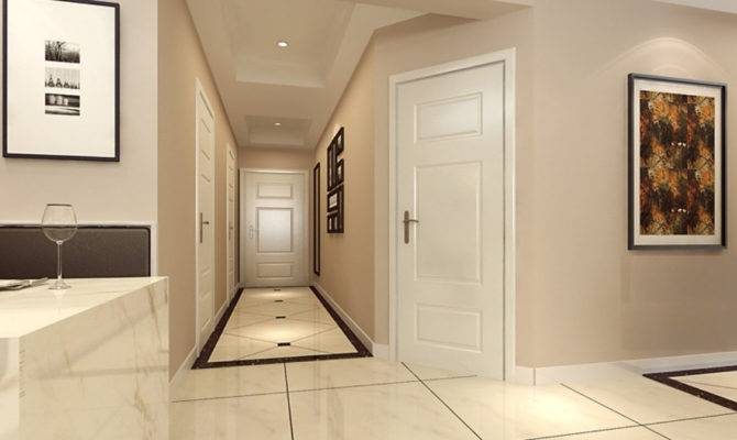 Home Interior Hallway Doors Design
