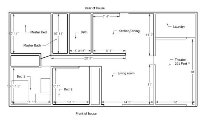 Home Layout Determining Best Small Layouts