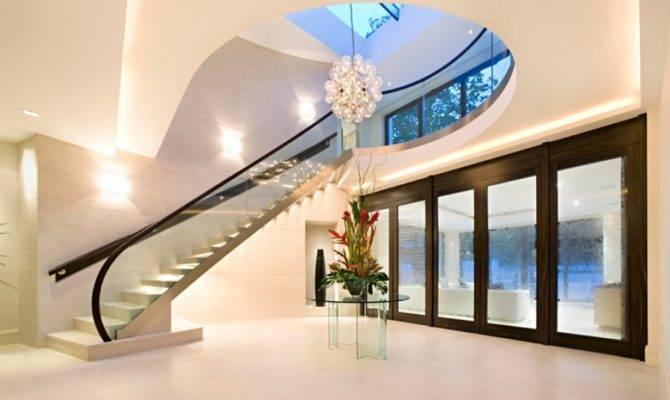 Home London England Million Pound Interior Design Glass Furniture