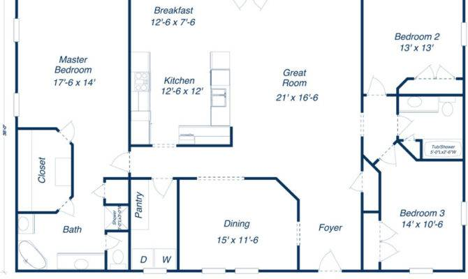 Home Needs Some Modification But Good Basic Plan