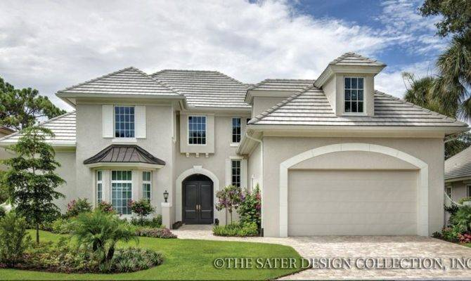 Home Plan Belcourt Sater Design Collection