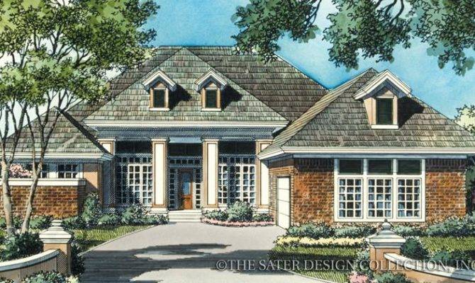 Home Plan Cedar Brook Court Sater Design Collection