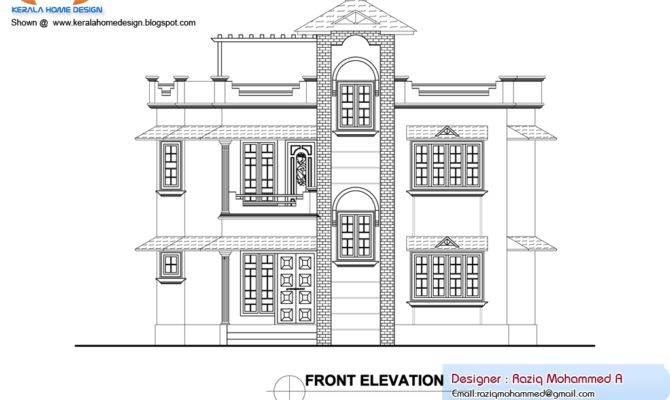Home Plan Elevation Kerala Design Floor Plans