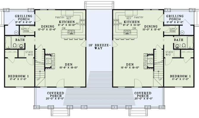 Home Plan Floor Main Level