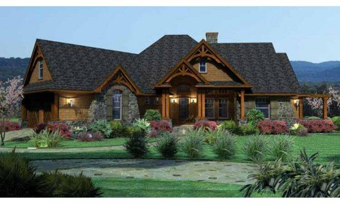 Home Plan Homepw Square Foot Bedroom Bathroom Ranch