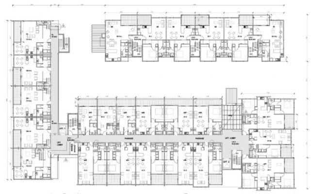 Home Plan Multi Apartment Floor Plans Modular