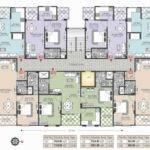Home Plan Multi Apartment Floor Plans Unit