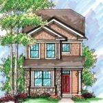 Home Plan Narrow Lot Design Planning Houses