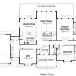 Home Plans Area Main Floor Upper Bedrooms