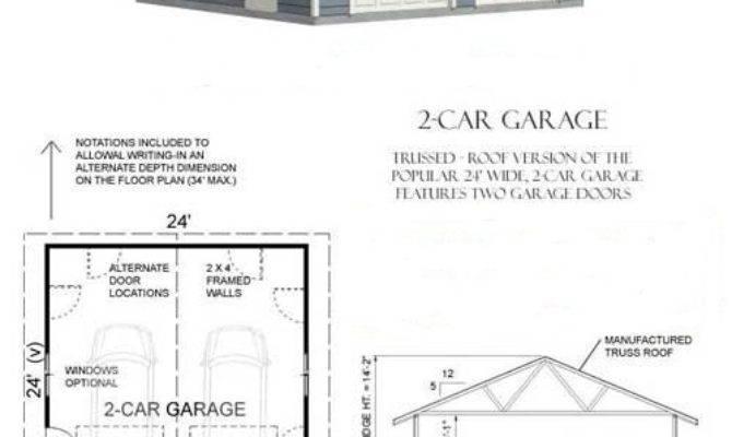 Home Plans Concrete Garage
