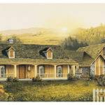 Home Plans Country House Acadian Ranch