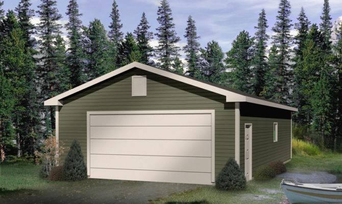 Home Plans Drive Through Garage