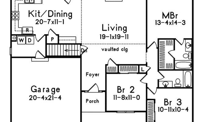 Home Plans Easy Country Beach House