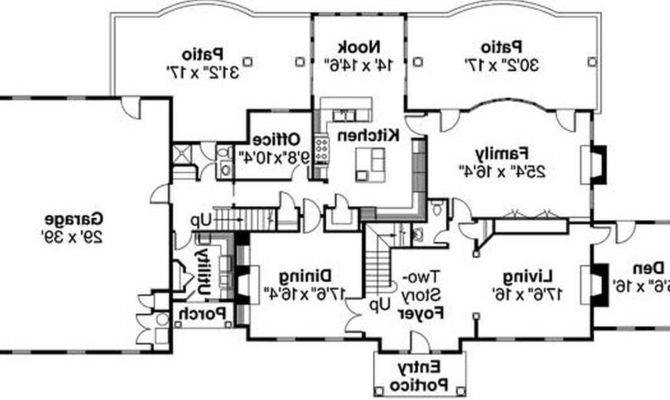 Home Plans Floor Plan Modern House Guy