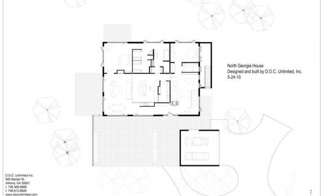 Home Plans Georgia Floor