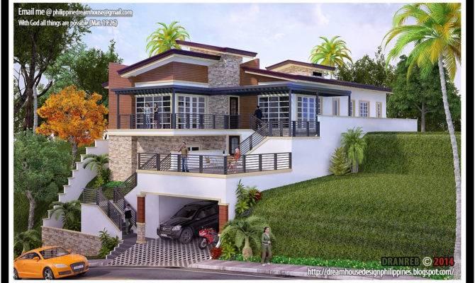 Home Plans Hillside Lots Elegant House Steep
