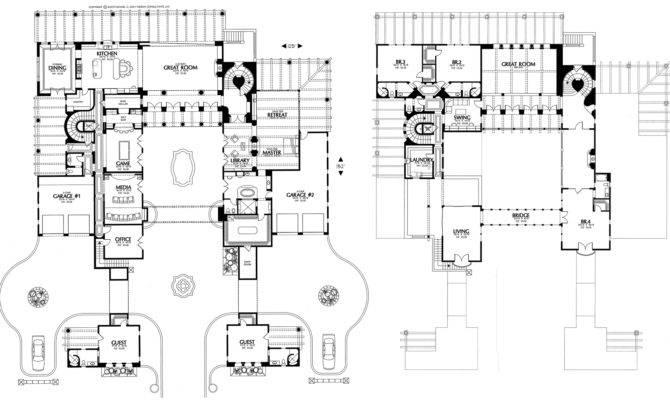 Home Plans House Plan Courtyard Santa Style
