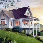 Home Plans House Sloped