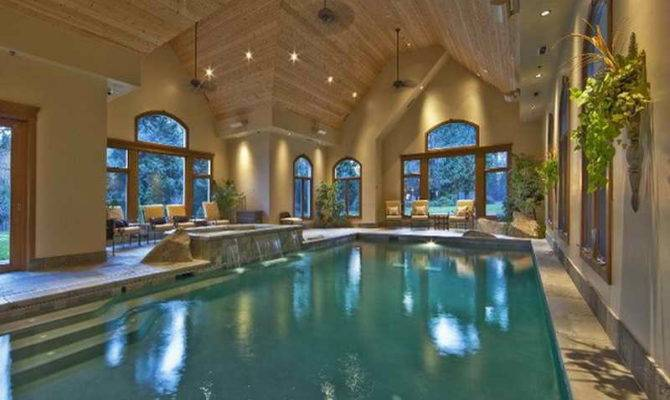 Home Plans Indoor Pool Luxury