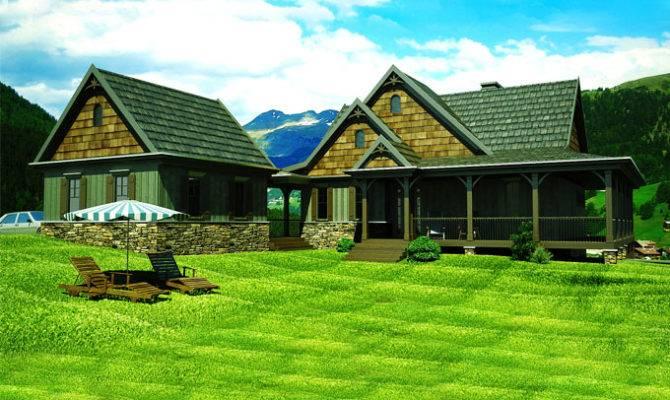 Home Plans Mountain House Plan Loft