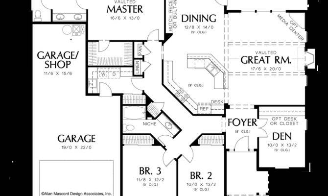 Home Plans One Story House Design Ideas