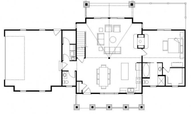 Home Plans Open Floor Homes