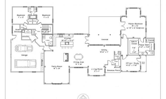 Home Plans Open Floor Single Story House