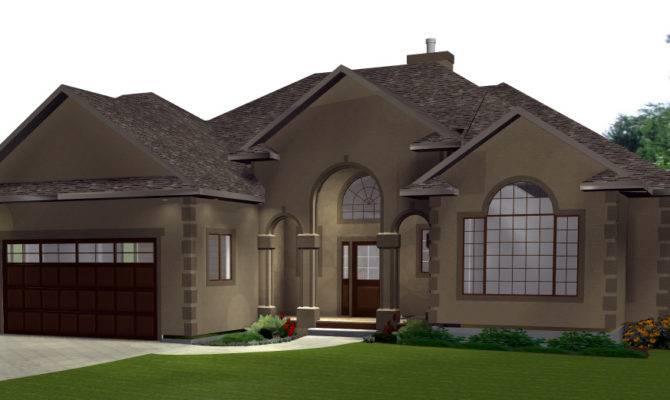 Home Plans Three Car Garage