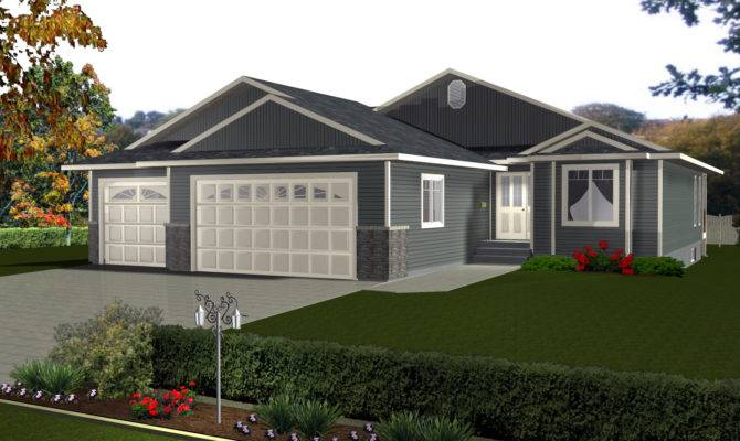 Home Plans Three Car Garage