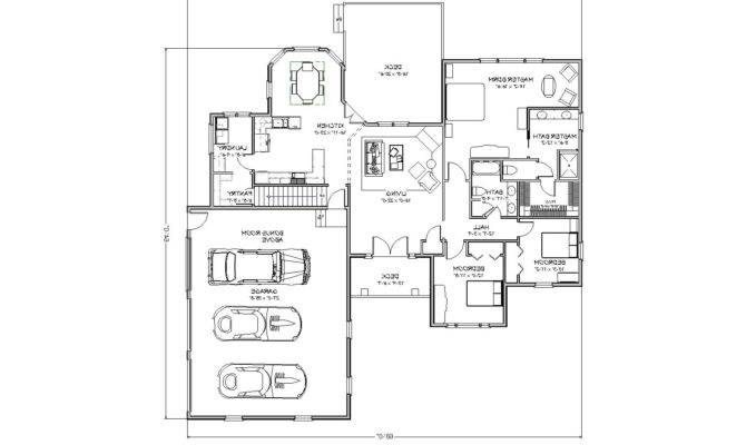 Home Plans Two Master Printable House Bedrooms