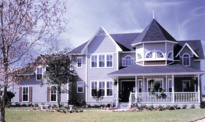 Home Plans Victorian House Traditional More