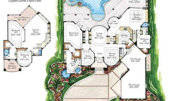 Home Plans Villas Floor