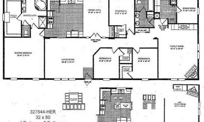 Home Remodeling Double Wide Mobile Floor Plans