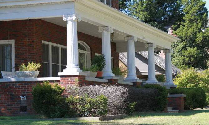 Home Remodeling Front Porch Columns Beautify Decoration