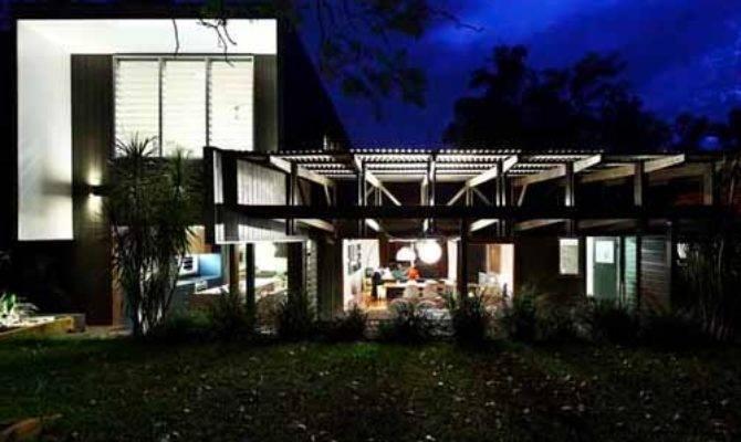 Home Slope Unique Design Bryanston House Residence Dream