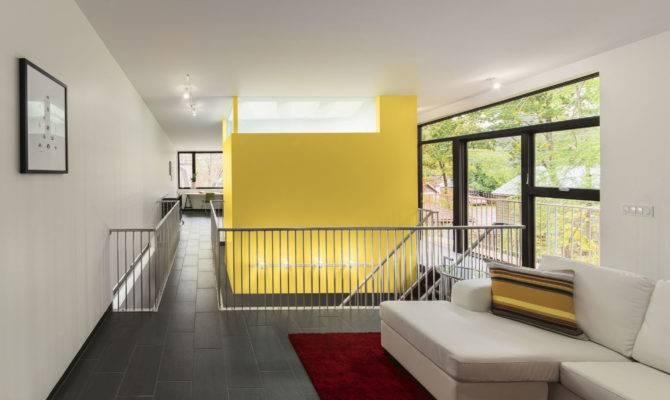 Home Small Luxury Ranch White Sofas Duplex House Design