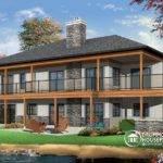 Home Trends Lakefront House Plan Bedrooms Open Floor Plans