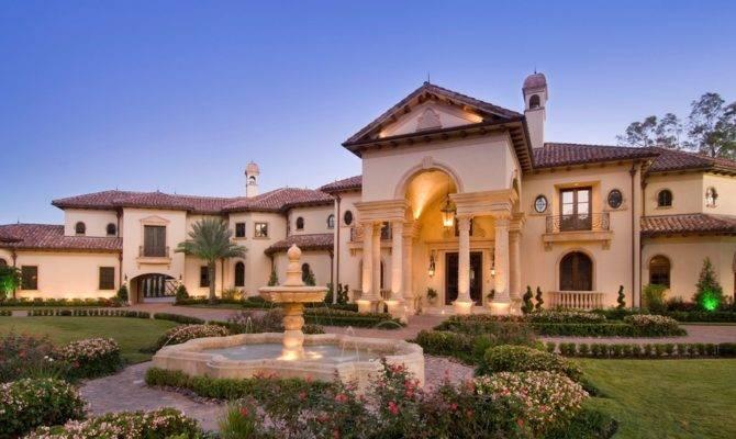 Home United States Homes Stunning Mediterranean Mansion Houston