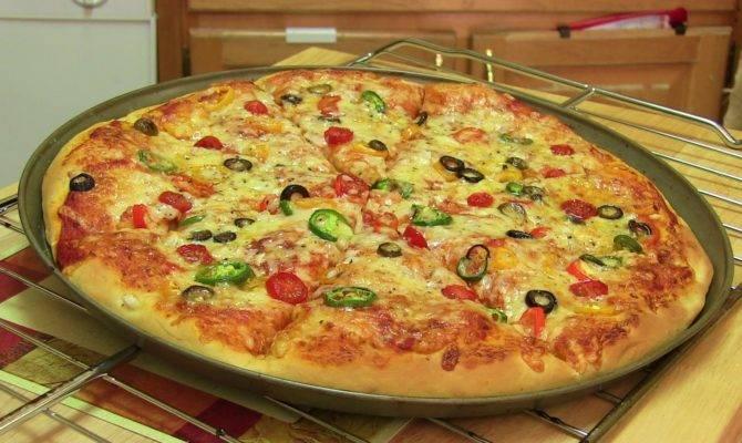Homemade Pizza Video Recipe Start Finish