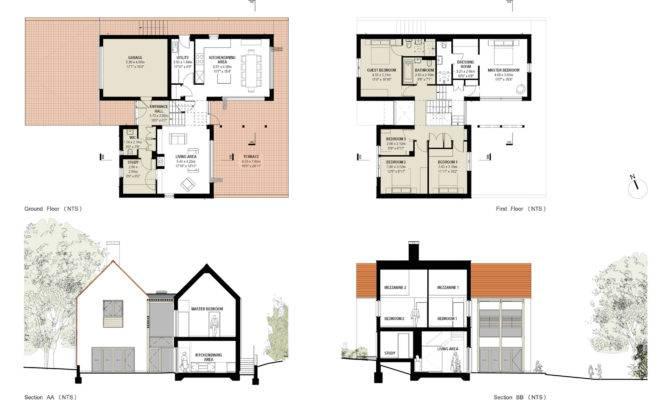Homeofficedecoration Eco House Designs Floor Plans