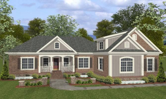 Homes Brick Siding Houseplansandmore Homeplans