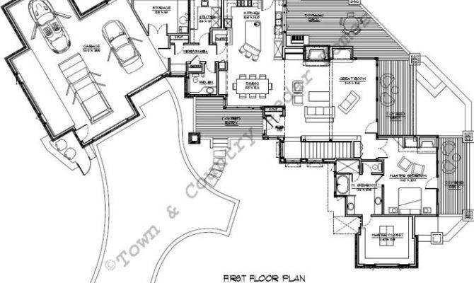 Homes Luxury Floor Plan Often Found Large Estates Big