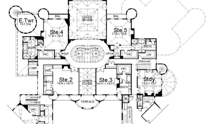 Homes Mansions Balmorial Home Plan