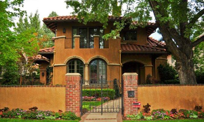 Homes Metal Roof Spanish Style Ranch Mediterranean Stucco